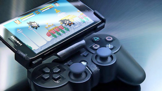Play DBZ Devolution on Android with a PS3 controler