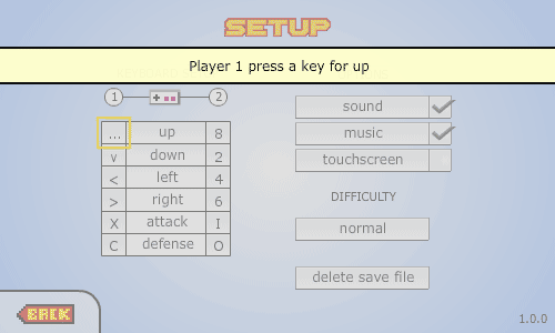 Setup Key in DBZ Devolution