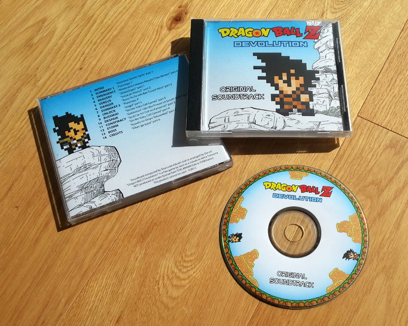 Dragon Ball Devolution OST