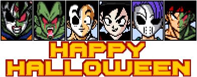 Dragon Ball Z Devolution Happy Halloween